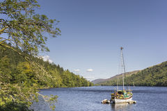 Loch Oich in Scotland. Royalty Free Stock Photography