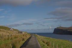 Loch Pooltiel wyspa Skye, Szkocja Obraz Royalty Free