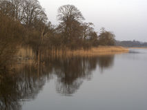 Loch Rescobie Image stock