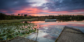 Loch Rusky at Dawn Stock Image