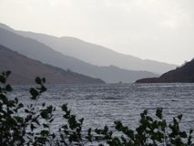 The loch Royalty Free Stock Photos