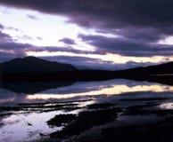 Loch scozzese. fotografia stock