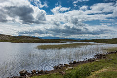 Loch Sgeireach on Assynt peninsula, Scotland. Royalty Free Stock Image