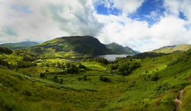 Loch Shiel chez Glenfinnan, Ecosse Images stock