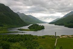 Loch Shiel en Ecosse. photos stock