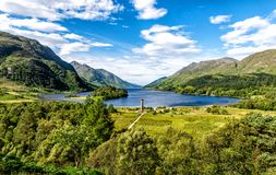 Loch Shiel, Glenfinnan, Ecosse photo stock