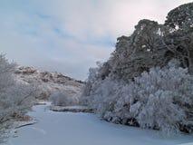 Loch shiel Royalty Free Stock Photo