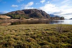 Loch Shiel Lake Reflection Scotland Stock Photos