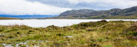 Loch Ewe and Inverwe Gardens, Scotland Stock Photography