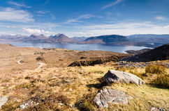 Loch Torridon from Bealach na Gaoithe Royalty Free Stock Photography