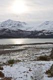 Loch Torridon, côte ouest Image stock
