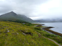 Loch Torridon. View of the Loch Torridon Coastline in the Scottish Highlands, UK Stock Images