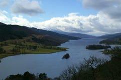 Loch Tummel, Scozia Immagini Stock