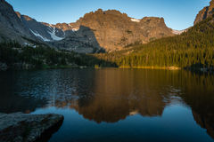 Loch Vale - Rocky Mountain National Park Royalty Free Stock Photography