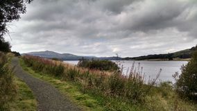 Loch van het de riviermeer van Schotland stock fotografie
