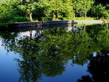 Loch von Belgrad Stockfotos