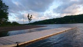 Lochaber jezioro, nowa Scotia Obrazy Stock