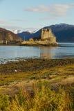 Lochalsh,苏格兰的凯尔-大约2013年3月:爱莲・朵娜城堡看法  库存照片