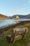 Lochalsh,苏格兰的凯尔-大约2013年3月:爱莲・朵娜城堡看法  免版税库存照片