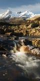 Lochan chez Slicachan Skye Photos libres de droits