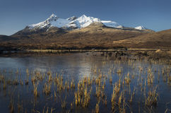 Lochan in Sligachan Skye Royalty-vrije Stock Afbeelding