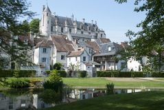Loches chateau. Royal chateau at loches france Royalty Free Stock Image