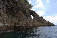 Lochkoralle auf weh Insel, Aceh lizenzfreies stockfoto