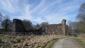 Lochmaben casle 库存照片
