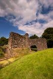 Lochmaben slott, Dumfries och Galloway, Skottland Arkivfoto