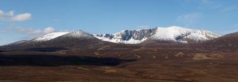 Lochnagar, Scozia. Immagini Stock Libere da Diritti