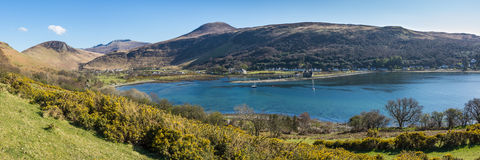Lochranza, Arran. Stock Photo