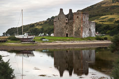 Lochranza bay Royalty Free Stock Photography