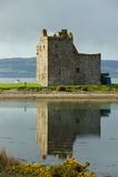 Lochranza Castle Royalty Free Stock Image