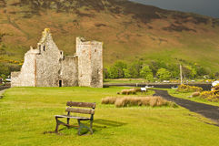 Lochranza Castle Stock Image