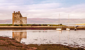 Lochranza Castle Arran. Lochranza castle on the isle of arran scotland Stock Images