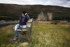 Lochranza Castle, Scotland Stock Photos