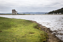 Lochranza Castle, Scotland Royalty Free Stock Images