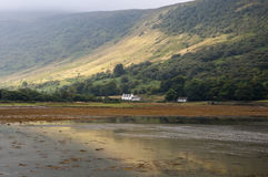 Lochranza on the Isle of Aaran Stock Photos