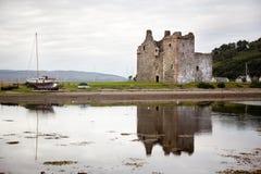 Lochranza slott, Skottland arkivbilder
