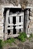 lochu kraj drewniany drzwiowy Italy Obrazy Royalty Free