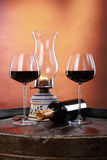 lochu wino Fotografia Royalty Free