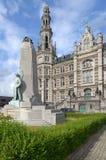 Loci władzy budynek w Antwerp, Belgia fotografia royalty free