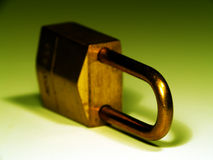 Lock. Close up of a lock with shallow DOF Royalty Free Stock Images