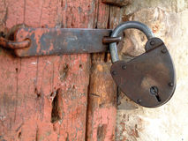 Lock. Old lock stock photography