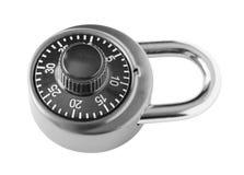Lock. Ed , isolated on white background Stock Photo