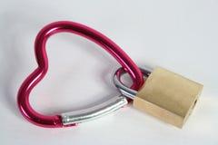 Lock. My heart locked Royalty Free Stock Photography