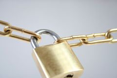 Lock. Security lock Royalty Free Stock Image
