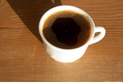 Lock av kaffe royaltyfria foton