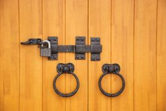 Lock and bolt Stock Photography
