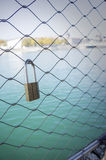 Lock on a Bridge Royalty Free Stock Images